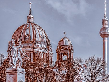 Berlin Cathedral, Building, Architecture, Berlin, Dom