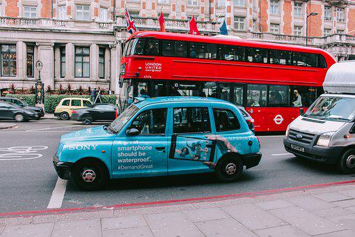 Vehicle, London, United Kingdom, Bus, England, Street
