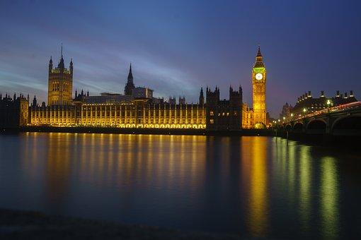 Architecture, Big Ben, Bridge, Building, City