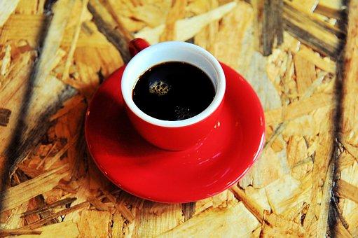 Coffee, Coffee Mug, Cup, Container, Red, Caffeine