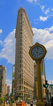 New York, Flat Iron, Building