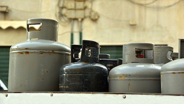Gas, Energy, Gas Bottle, Transport, Heat, Cook