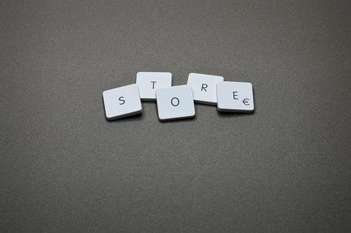 Shop, Business, Keyboard, Key, Button, Technology, Text