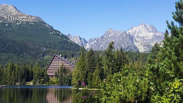 Tatry, Strba Tarn, Slovakia, Mountains, Nature, Lake