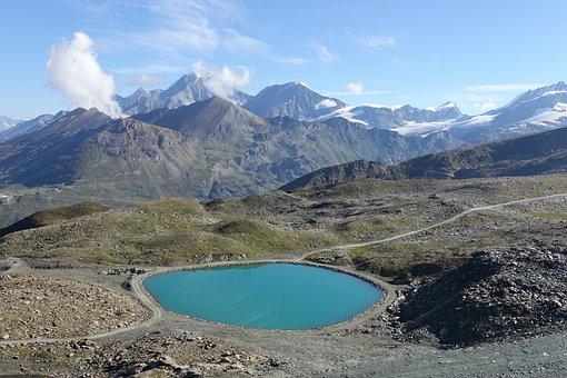 Switzerland, Alps, Lake, Mountains, Landscape
