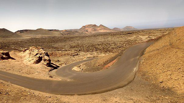Lanzarote, Timanfaya, Nature, Landscape