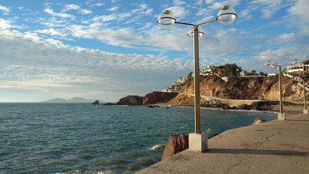 Lighting, Lamp, Malecon, Sky, Decoration, Flashlight