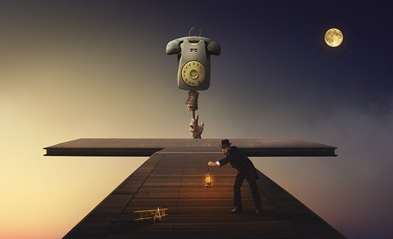 Manipulation, Moon, Phone, Aircraft, Spaces, Transport