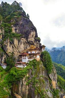 Tiger's Nest, Paro, Bhutan, Buddhism, Monastery