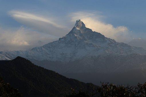 Himalayas, Mountains, Nepal, Mountain Summit, Mountain
