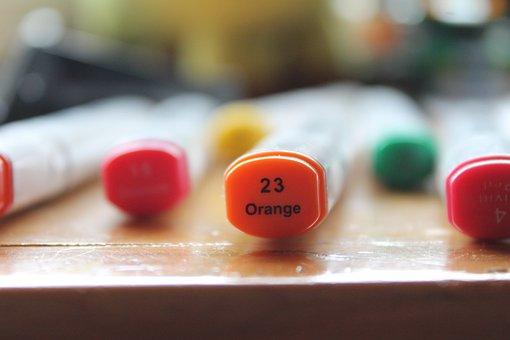 Colors, Marking, Colorful, Multicolor, Mark