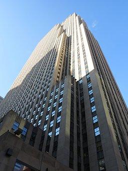 Nyc, New York, Manhattan, City, Skyline, Architecture