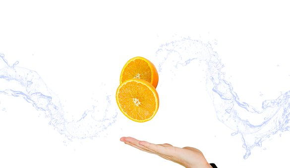 Fruit, Orange, Citrus, Vitamins, Hand, The Hand