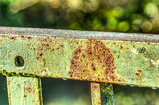Rust, Iron, Railing, Old, Bridge, Parapet, Steel