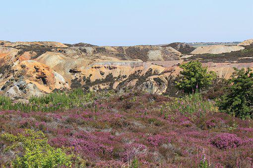 Anglesey, Parys Mountain, Wales, North Wales, Copper