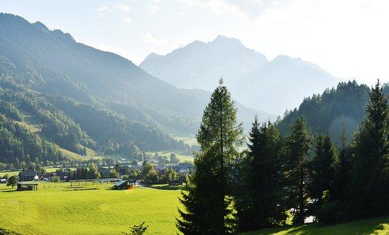 Alps, Julian Alps, Slovenia, Mountains, Fog, Tourism