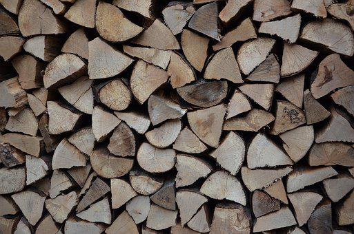 Wood, Stack, Firewood, Stacked, Stacked Up, Holzstapel