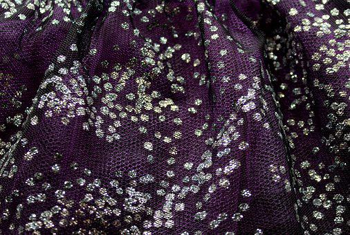 Material, Tulle, Wavy, Texture, The Structure Of The
