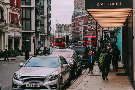 Vehicle, London, People, United Kingdom, England