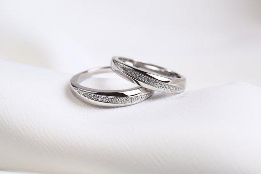Rings, Wedding Rings, White Gold Ring, Jewelry