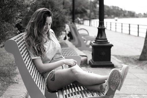 Woman, Thinking, Girl, Portrait, Beauty, Reflection