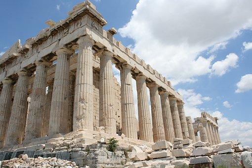 Photo, Athens, Acropolis, Greece, Greek, Ancient