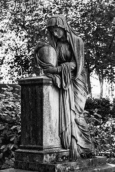 Bonn, Old Cemetery, Tomb Art, Sculpture, Burial Ground