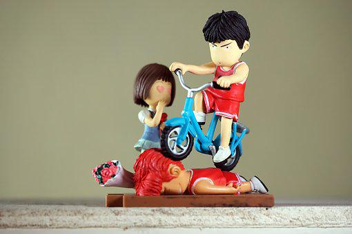Young, Male, Boy, Girl, Japanese, Anime, Cartoon