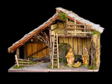 Religion, Christmas, Crib, Bethlehem, Christ, Baby