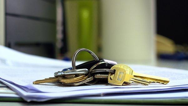 Key, Keys, Office, Work, Rush, Access, Opening, Closeup