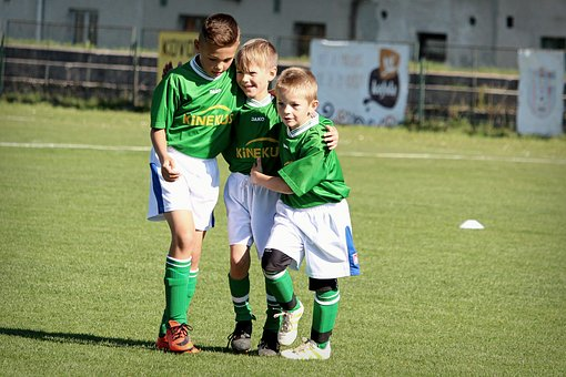 Football, Prep, Children, Sport, Pleasure, Victory