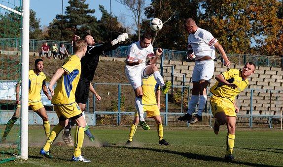 Football, The Ball, Game, Player, Fc, Grass, Team