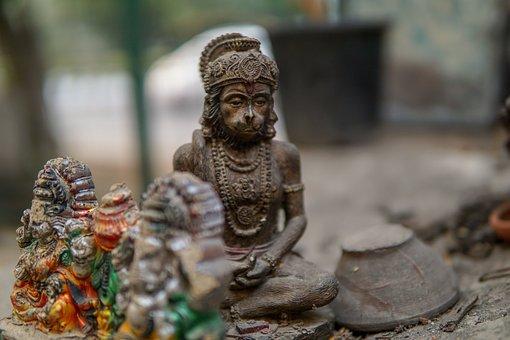 Hanuman, Hinduism, Religion, God, Monkey God, India