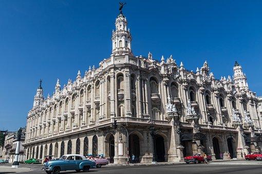 Cuba, Havana, National Cuban Theatre, Landmark