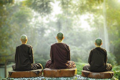 Theravada Buddhism, Nuns, Meditation, Monastic