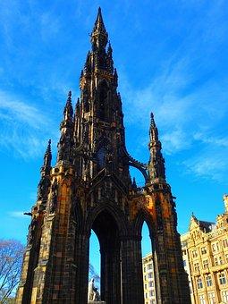 Scott Monument, Monument, Scotland, Scott, Edinburgh