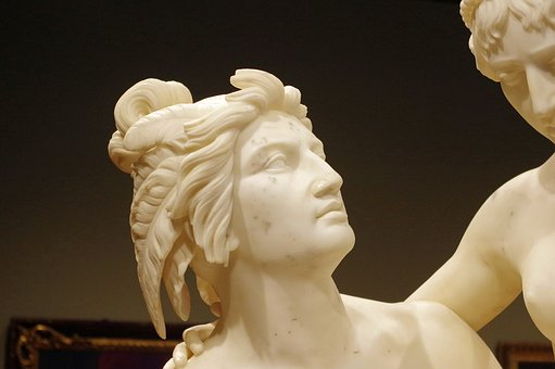 Atala And Chactas, Randolph Rogers, 1854, Sculpture