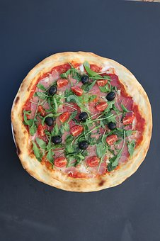 Pizza, Food, Italian, Lunch, Fresh, Snack, Cooking