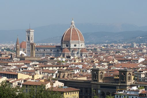 Florence, Italy, Architecture, Dome, Travel