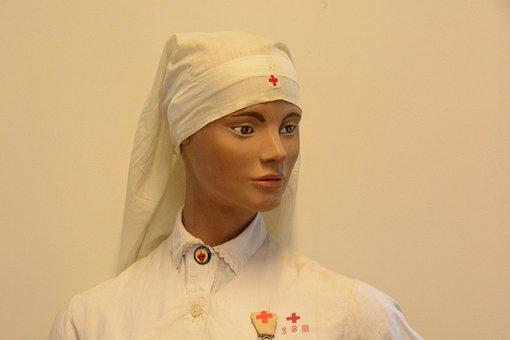 Nurse, Woman, War 14-18, Mannequin