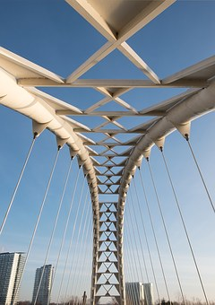 Bridge, Toronto, Downtown, Urban, Architecture, Arch