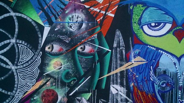 Graffiti, Art, Urban, Design, Paint, Grunge, Wall