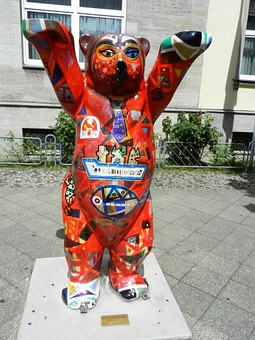 Teddy Bear, Berlin, Symbol, Misiek, The Statue, Tour