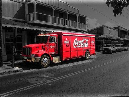 Coca Cola, Coke, America, Hawaii, Big Iland, Lahaina
