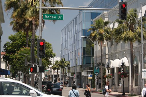 Beverly Hills, Rodeo Drive, California, Usa