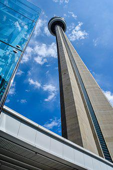 Toronto, Cn Tower, Architecture, Canada, Cities