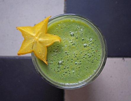 Green Smoothie, Healthy, Fresh, Juice, Drink, Vitamins