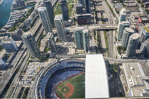 Toronto, Canada, Rodgers Center, Football, Cn Tower