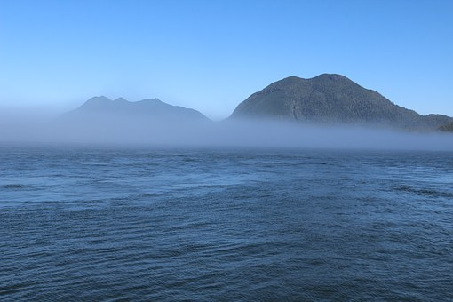 Fog, Foggy, Hill, Mountain, Misty, Morning, Haze, Sea