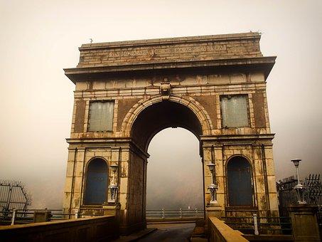 Hartbeespoort, Dam Wall, Icon, Entrance, Tunnel